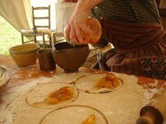 Living history on one of my favourite blogs: http://aspiring-homemaker.blogspot.com/
