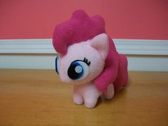 Pinkie Pie Chibi Pony Plush Handmade Custom My by BabyPonyMagic, $49.50