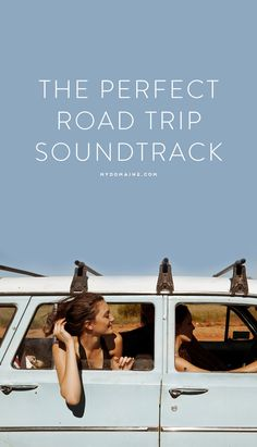 You're going to need this for the summer // pack your bags, hit the road, and turn the volume up