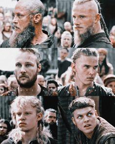 Bjorn Lothbrok, Ragnar Lothbrok Vikings, Lagertha, Vikings Show, Vikings Tv Series, Sons Of Ragnar, Viking Series, Cute Asian Babies, The Last Kingdom