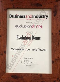 Just received our award for Company of the year as voted by Business and Industry today magazine    Free Quotes, Evolution, Events, Magazine, Business, Magazines, Store, Business Illustration, Warehouse