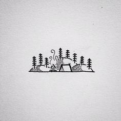 Looking through my sketchbooks from the past year and found this little doodle. 2015 has been a great year and I look forward to what 2016! Happy New Year!! #drawing #doodle #art #penandink #micron #design #graphicdesign #linework #homeiswhereyoupitchit #camping #campvibes #portland #oregon #pnw #upperleftusa #keepitsimple #illustration #illustree #backpacking #iblackwork #tattoo #tattoodesign by david_rollyn