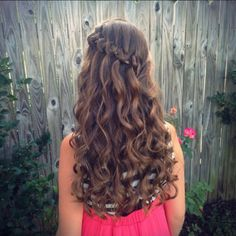 Knotted Waterfall Braid
