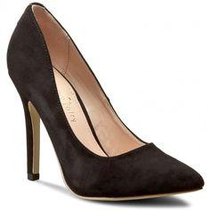 Γόβες JENNY FAIRY - W17SS713-1 Μαύρο Peeps, Peep Toe, Shoes, Fashion, Moda, Zapatos, Shoes Outlet, Fashion Styles, Shoe