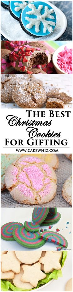Check out this collection of delicious and beautiful CHRISTMAS COOKIES that are perfect for gift-giving! I have also included 9 super easy ways of packaging them! From cakewhiz.com