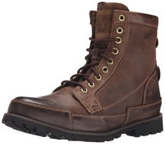 "Timberland Men's Earthkeeper 6"" Laceup Boot,Dark Brown Burnished Oiled, 7 M US"