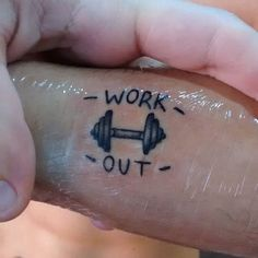 Pin for Later: 49 Tattoos That Show a Serious Commitment to Fitness Football Tattoo, Super Hero Shirts, Bunny Tattoos, Fitness Photos, Fitness Tattoos, Symbolic Tattoos, Small Art, Popsugar, Tattoos For Guys