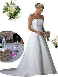 Γάμος η πολυτέλεια στό Γάμο Wedding Dresses, Fashion, Bride Dresses, Moda, Bridal Gowns, Fashion Styles, Weeding Dresses, Wedding Dressses, Bridal Dresses