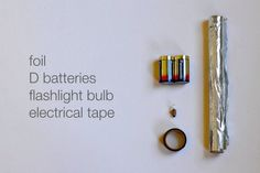 How to make a simple circuit. Teaching children about electricity