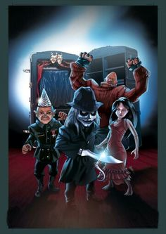 ~A Great Horror Doll Trilogy ~The Puppet Master Trilogy ~