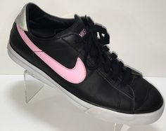 Nike Sweet Classic Women US 11 Sneaker Shoes Pink Black BRS Leather #Nike #SweetClassicSneaker