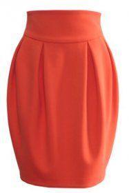 Как сшить юбку тюльпан новичку