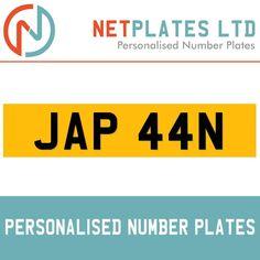 JAP 44N PRIVATE PLATE REGISTRATION PLATES CHERISHED REG PLATES RETENTION CHEAP