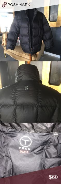 TUMI winter coat Men's XL Men's Black down and feather filled quilted winter coat. Never worn and without tags.. Lightweight and not too puffy. Men's XL. Was given as a Christmas present last year but he doesn't like puffer jackets 🙄 Tumi Jackets & Coats Puffers