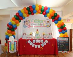 "Elmo's World / Birthday ""Adam's 1st Birthday"" | Catch My Party"