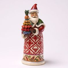 Williamsburg Santa - Jim Shore Santa Figurines 4027827 | ENESCO