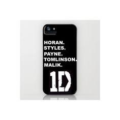 One Direction iPhone iPod Case ($35) ❤ liked on Polyvore featuring accessories, tech accessories, phone cases, phones, one direction, iphone and cases