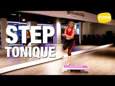 Yoga Fitness Flat Belly Step - Circuit training - Exercices de step - Doctissimo - There are many alternatives to get a flat stomach and among them are various yoga poses. Step Fitness, Yoga Fitness, Fitness Classes, Cardio, Hiit, Exercice Step, Step Workout, Pilates Video, Flat Stomach