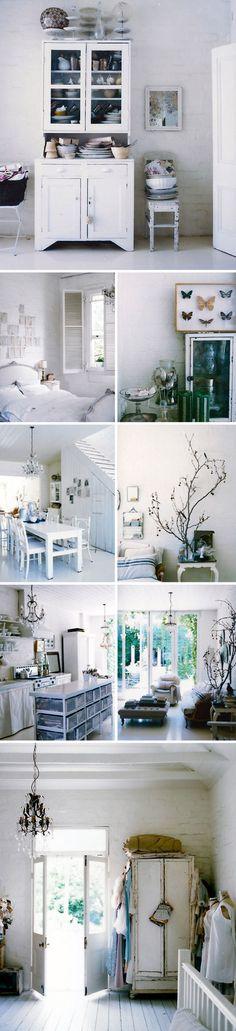 White interior - sweet cottage