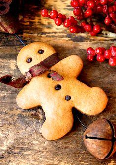 Noël / Petit bonhomme en pain d'épice.