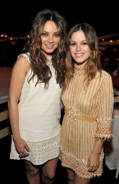 Pin for Later: 48 Reasons You Still Love Rachel Bilson And Mila Kunis.