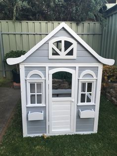 Kmart cubby house converted.