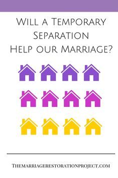 what is a trial separation marriage