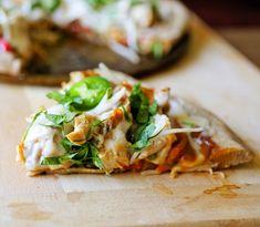 lemongrass chicken pizza