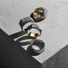 Meteorite rings.