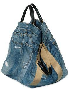 Хэнд мэйд сумки джинсовые.