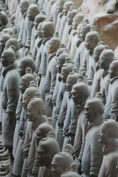 Xian Warriors, China