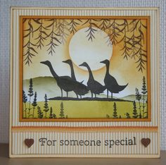 Handmade by Ann Baird. Distress Inks and Lavinia stamps.
