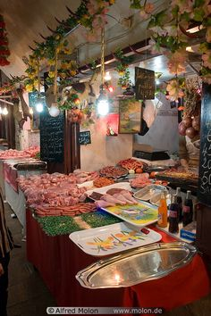 butcher shop, Fes, Morocco | Alfred Molon