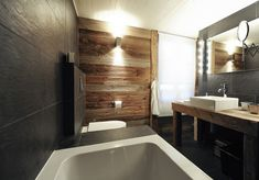 The renovated cottage in Virginia and Bastien in the Alps