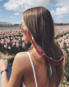 Neverland in Flower Field Diy Fashion Accessories, Handmade Accessories, Sunglasses Accessories, Neverland, Hippie Style, Eyeglasses, Hair Style, Eyewear, Ideas