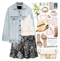 """""""All Patched Up: Patchwork"""" by martinabb ❤ liked on Polyvore featuring Alexander Wang, Miss Selfridge, MANGO, Chloé, Pour La Victoire, Madewell and Elizabeth Scarlett"""