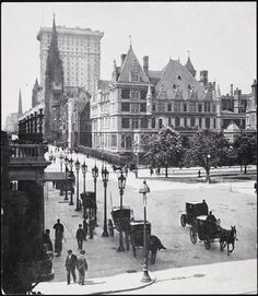 Vanderbilt Mansion at Fifth Avenue and 59th Street, New York, 1900 by liliana