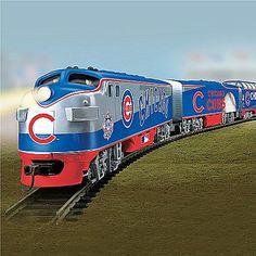 Chicago Cubs Express Major League Baseball Train Collection