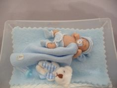 OOAK 1/12th scale Baby boy full sculpt hand made by thimblemins