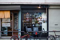 coffee shop front