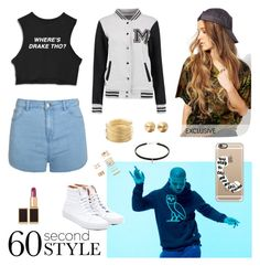 """""""Drake"""" by maria-lykke-eskesen ❤ liked on Polyvore featuring Casetify, Ally Fashion, Reclaimed Vintage, Vans, Tom Ford, Eddie Borgo, Avenue, Forever 21, DRAKE and views"""