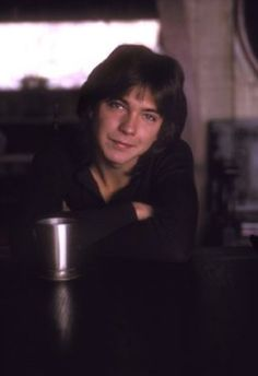 David Cassidy - can you imagine David sitting opposite you now across this table? Pass the smelling salts please-quickly!
