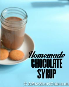Never buy chocolate syrup again! Make your own with this easy and affordable recipe!
