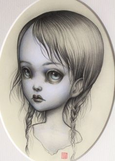 Mab Graves - Her Waifs and Strays — Lilith - original illustration by Mab Graves