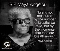 RIP Maya #Angelou
