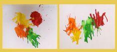 InCultureParent   Holi Craft: Straw Painting