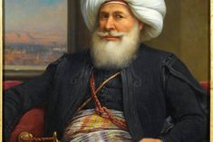 Mehemet Ali (1760-1849), father of Ibrahim Pasha, begins an ambitious program of modernization of Egypt. But he is reserved on the idea of ​​recreating a canal linking Europe and Arabia. It is his son, nicknamed Saïd Pasha, who will give permission to Ferdinand de Lesseps to start the work, which will finally be inaugurated only by the grandson of Mehemet Ali: Ismail, who became khedive at the age of 33.
