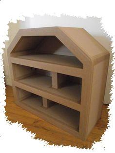 Maison de poupée en carton brut http://www.collection-carton.fr/category.php?id_category=34