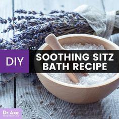 DIY sitz bath - Dr. Axe