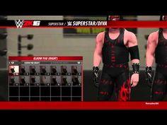 WWE 2K16 - Kane Alternative Attire Demon Kane 2015 - YouTube